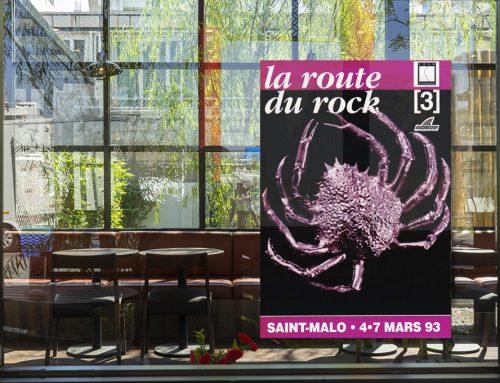Affiche La Route du Rock