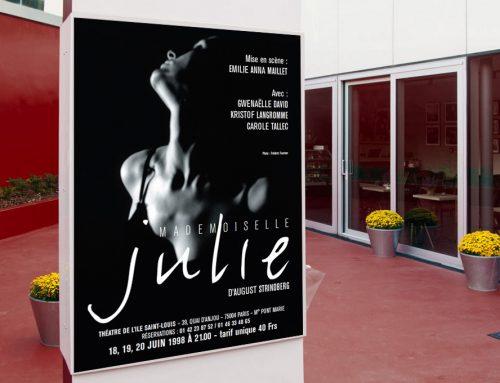 Théâtre : Mademoiselle Julie
