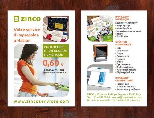 Flyer pour mon imprimerie numérique