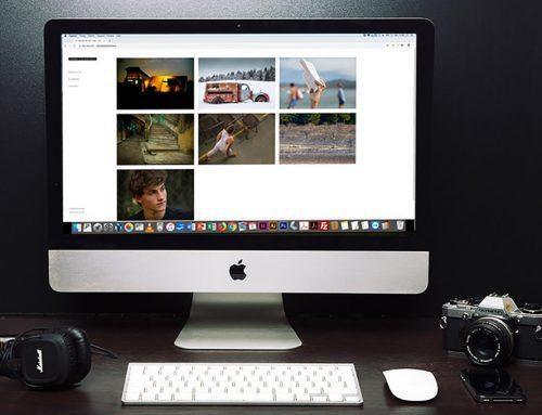 Site web de photographie