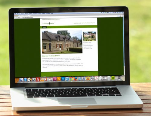 Site web pour un gîte rural