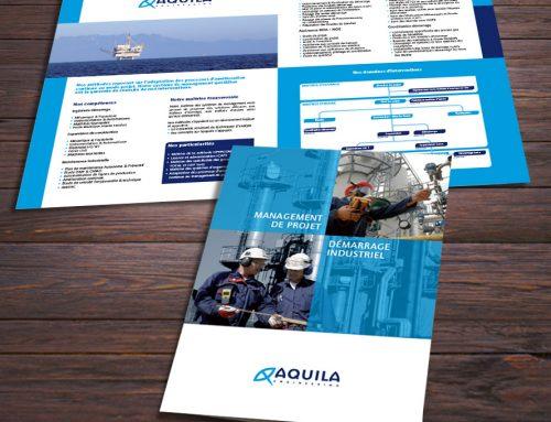 Plaquette d'une société de management de projet industriel